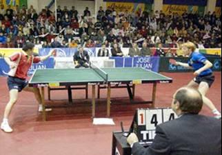 La fiesta del tenis de mesa español